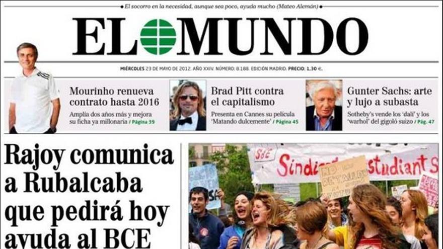 De las portadas del día (23/05/2012) #8