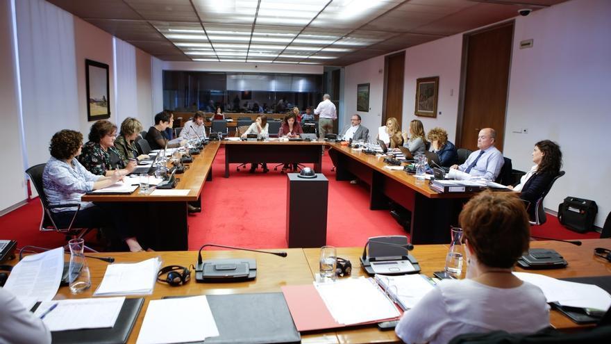 Aprobado el dictamen de la ley de Renta Garantizada, tras incorporarse 14 enmiendas en comisión