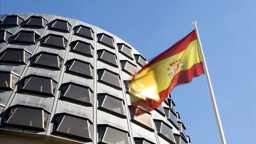 Fachada de la sede del Tribunal Constitucional.
