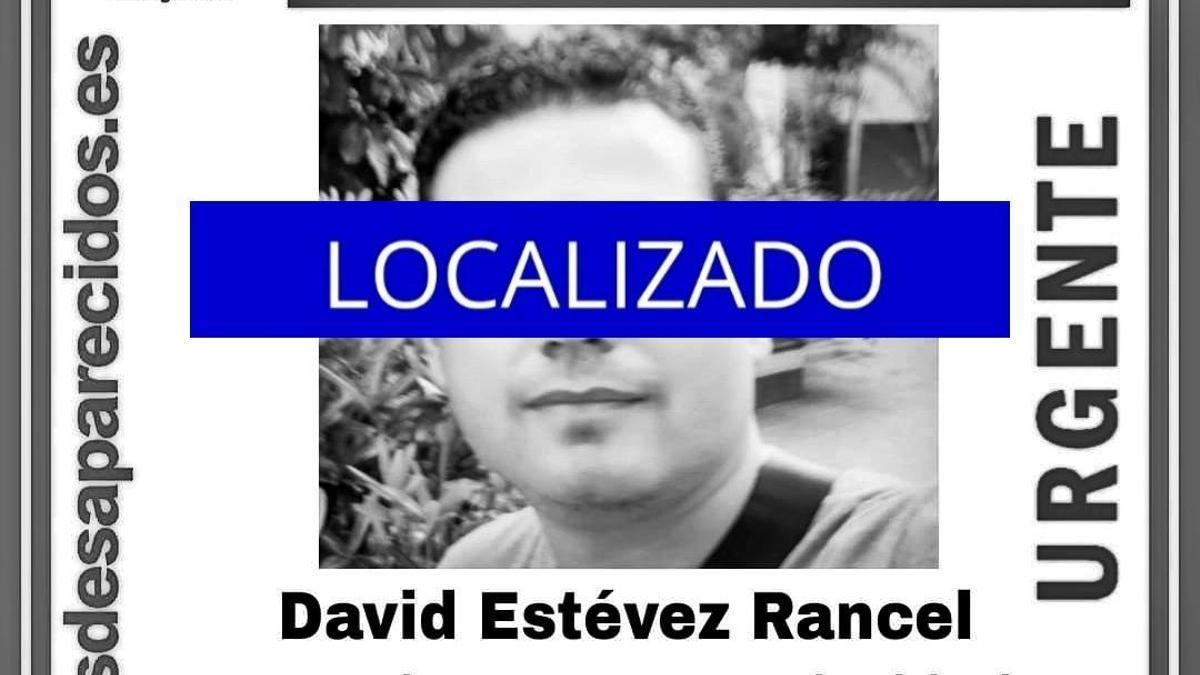 Localizado David Estévez Rancel