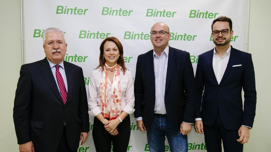 Binter colaborará con Sodepal para la organización de los eventos que realizará durante 2017.