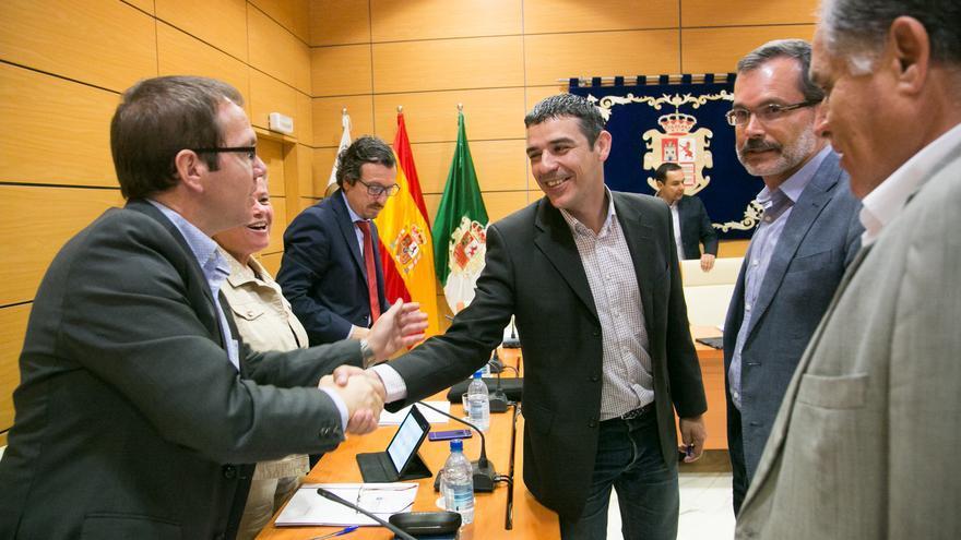 El consejero Narvay Quintero en el Cabildo de Fuerteventura