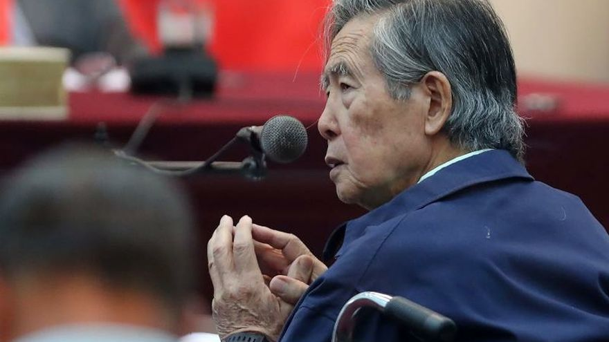 New appeal before the Constitutional Court seeks Fujimori's freedom