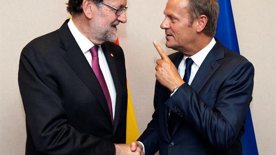 Rajoy recibe mañana a Tusk ante la cumbre que analizará una UE sin el R.Unido