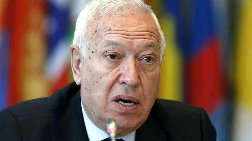 """García-Margallo afirma que la presencia de Palestina en el Vaticano """"es histórica"""""""