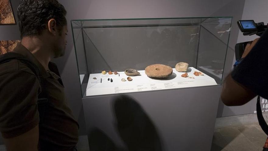 Altamira sale por primera vez de su museo para exhibirse en la Cueva Pintada