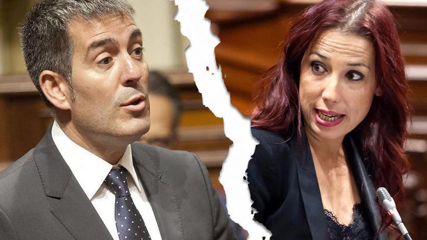 El pacto de Gobierno regional entre Coalición Canaria y PSOE pende de un hilo. (Canarias Ahora).