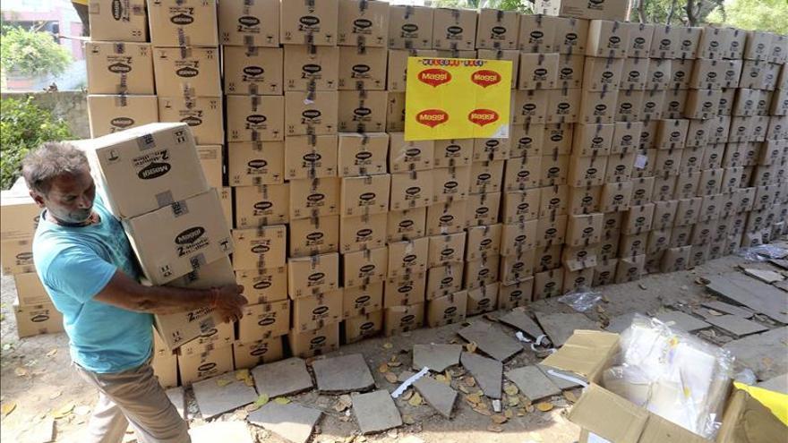 """Los """"noodles"""" de Nestlé regresan a India tras ser retirados por exceso de plomo"""