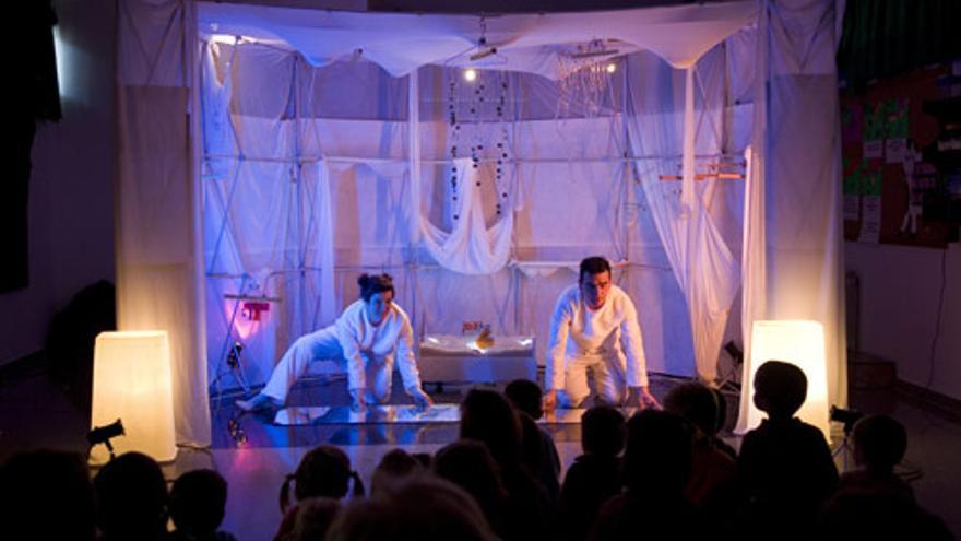 Representación de la obra La Sal en el Teatro Fernán Gómez. / Teatro Fernán Gómez