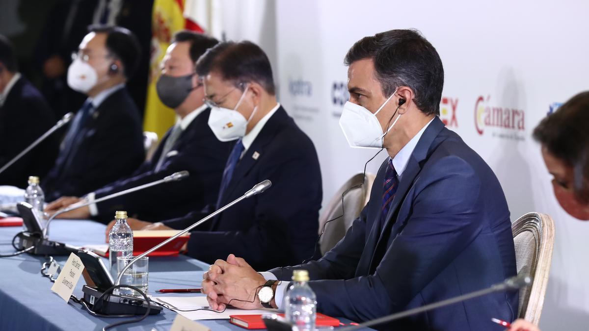 El presidente del Gobierno en el Foro Empresarial España-Corea