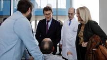 Feijóo culpa a PSOE y Podemos del recorte de personal sanitario acumulado en Galicia durante el mandato de Rajoy
