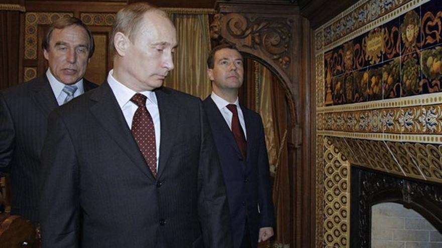 Sergei Roldugin, el amigo de Vladimir Putin con el que figura en paraísos fiscales según los Papeles de Panamá.