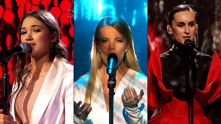 Representantes de Polonia, Eslovenia y Ucrania para Eurovisión 2020
