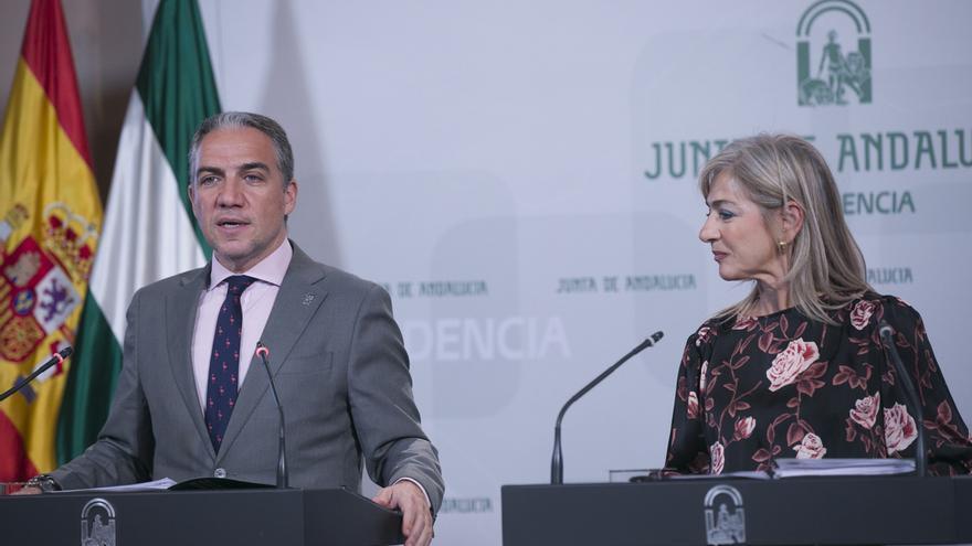 """Andalucía ve """"indignante"""" que Sánchez reciba primero al """"inhabilitado"""" Torra antes que al resto de presidentes de CCAA"""