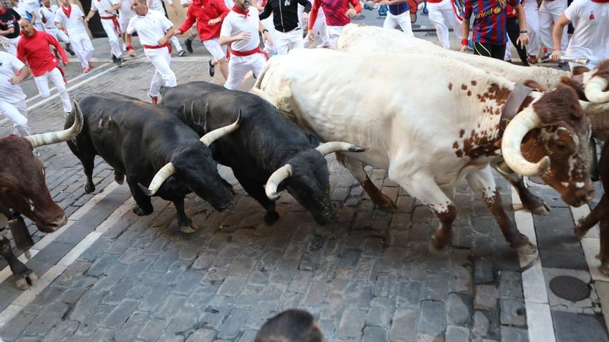 El herido por asta de toro es un vecino de Cascante de 57 años