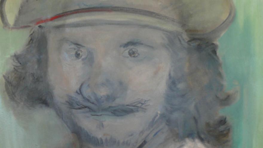 Una de las obras de Blas Parra