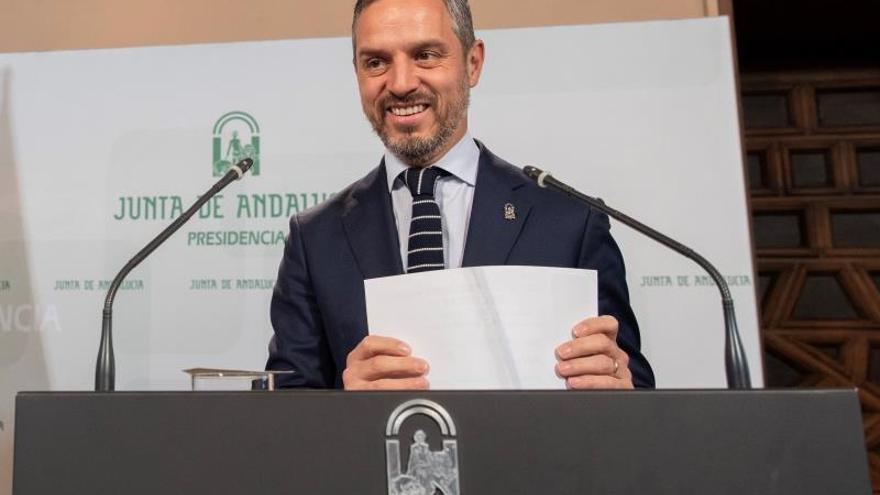 Principio de acuerdo del Gobierno andaluz con Vox para que retiren la enmienda