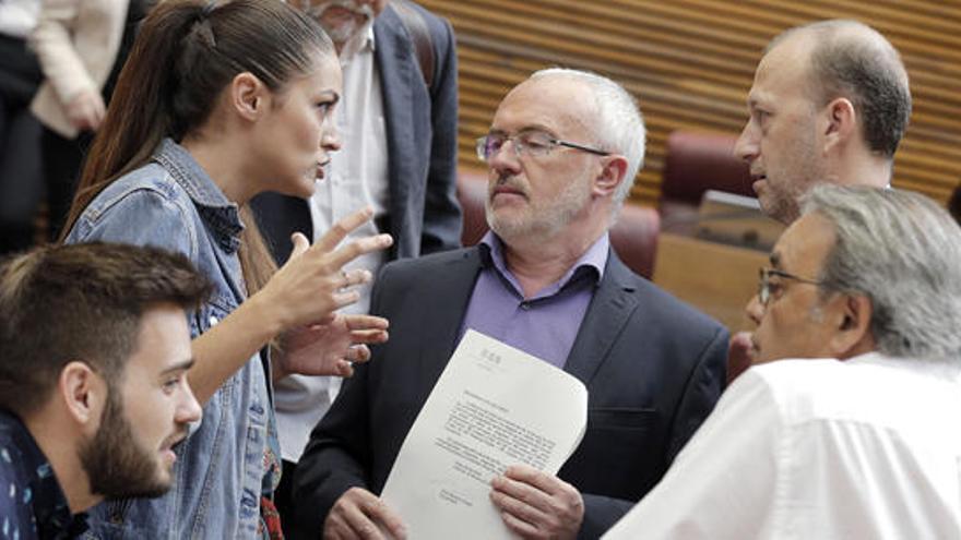 Mireia Mollà dialoga con Antonio Montiel, Alexis Marí, Manolo Mata y Fran Ferri
