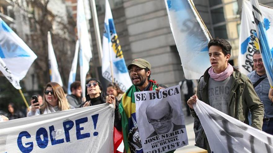 """Argentina y Brasil piden """"conciliación"""" en Venezuela y un Mercosur dinámico"""