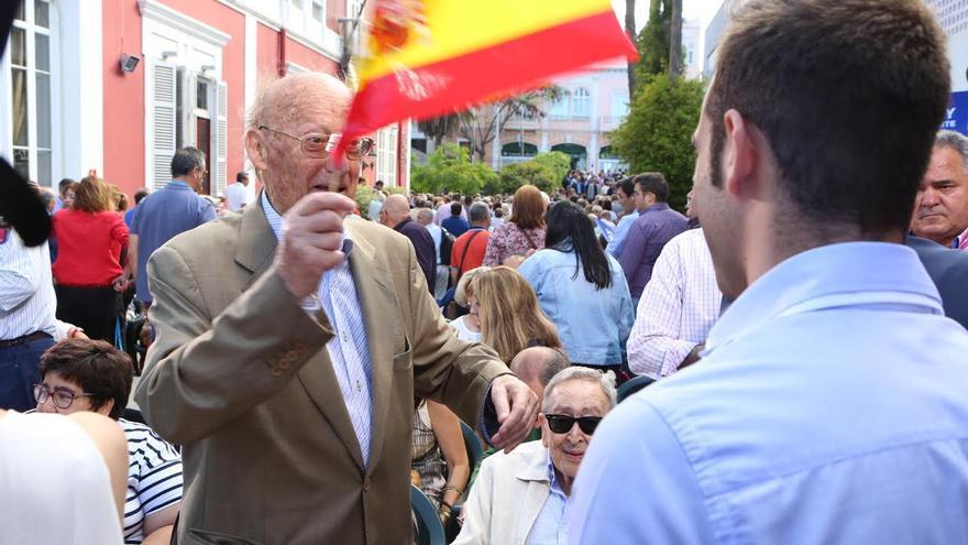 José Macías, expresidente del Cabildo de Gran Canaria. (ALEJANDRO RAMOS)