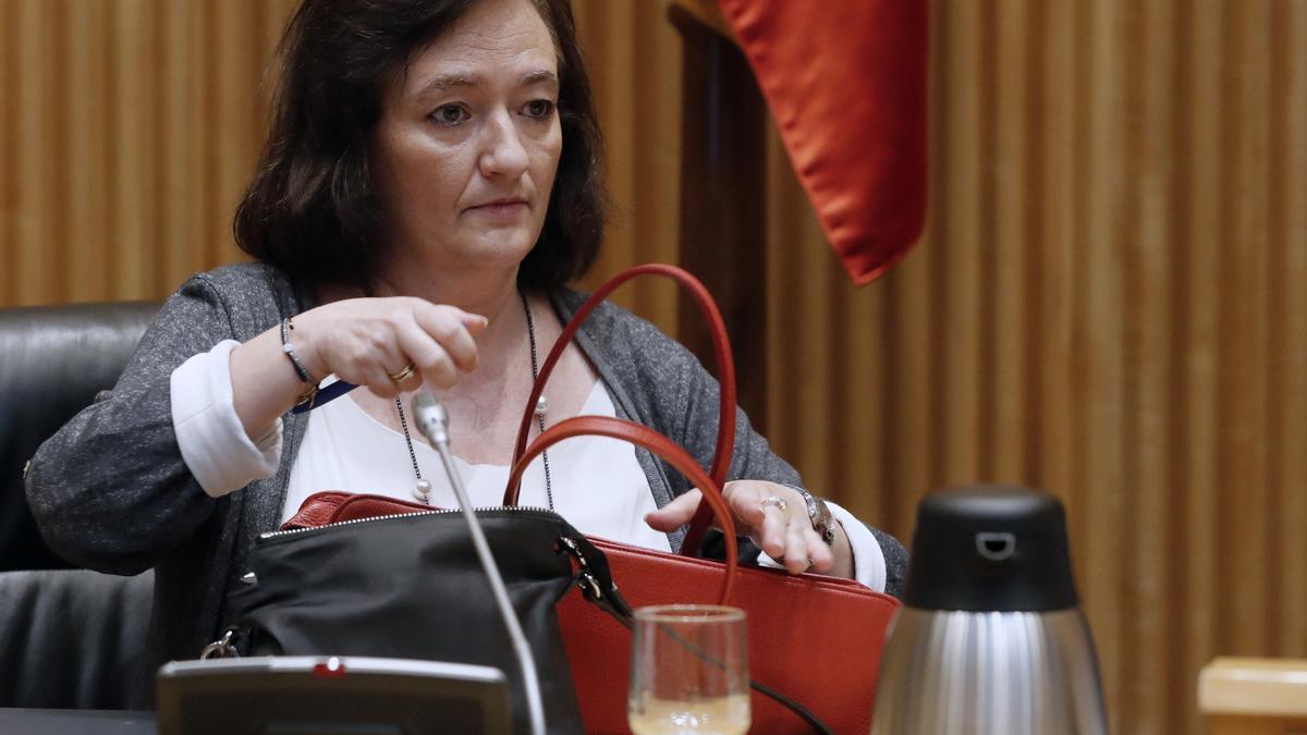La presidenta de la Autoridad Independiente de Responsabilidad Fiscal (AIReF), Cristina Herrero. EFE/ Ballesteros/Archivo