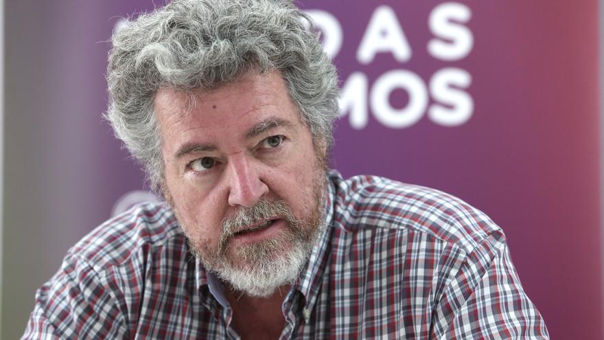 José Juan López de Uralde es fundador de Equo y candidato de Unidas Podemos por Álava.