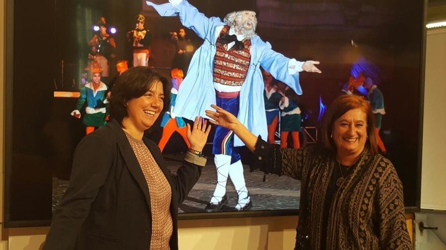 Más de 80 artistas participan el día 23 en el desfile de Olentzero de Bilbao
