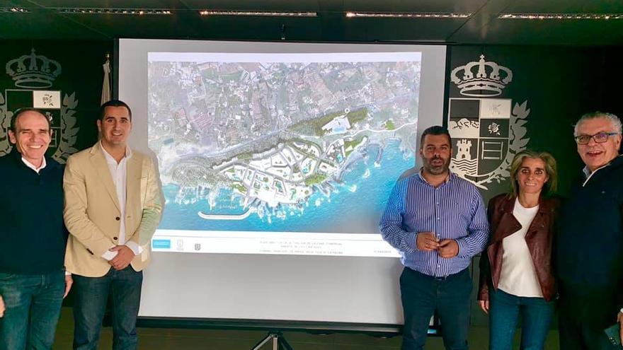 Presentación del plan director de Los Cancajos.