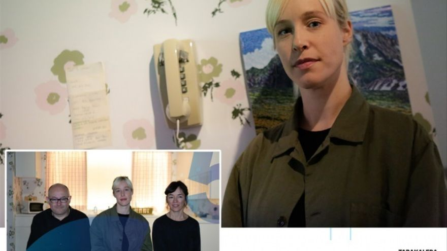 La cineasta Tamyka Smith realiza una instalación sobre un corto de Zabaltegi del Festival de Cine de San Sebastián