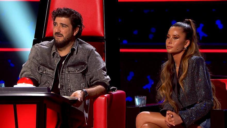 Antonio Orozco y Cami, en 'La Voz Senior'