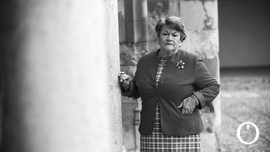 Olga Caballero, presidenta de la Agrupación de Cofradías