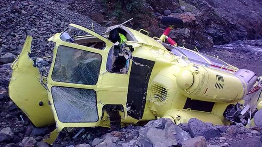 Del helicóptero accidentado #5