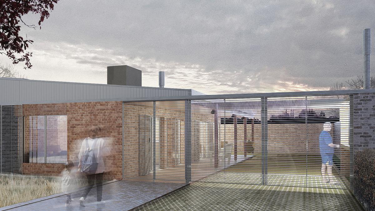 """Modelo arquitectónico de """"Casa Propia""""."""