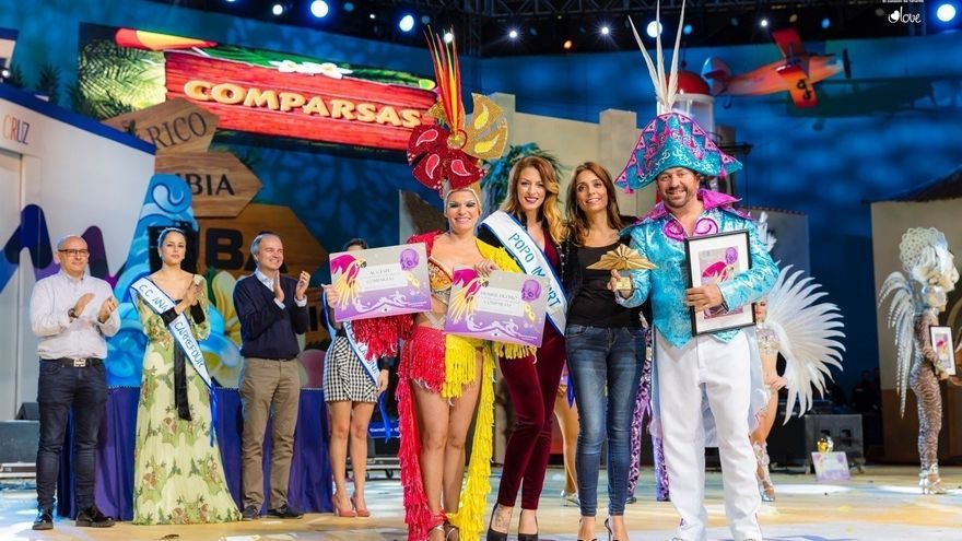 Entrega de premios en el Concurso de Comparsas del Carnaval de Santa Cruz 2017