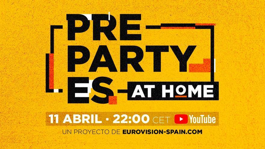 Logotipo de Pre-PartyEs At Home!