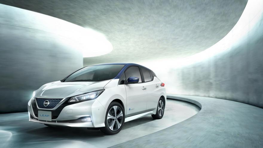 Nissan Leaf 2018, con 378 kilómetros de autonomía.
