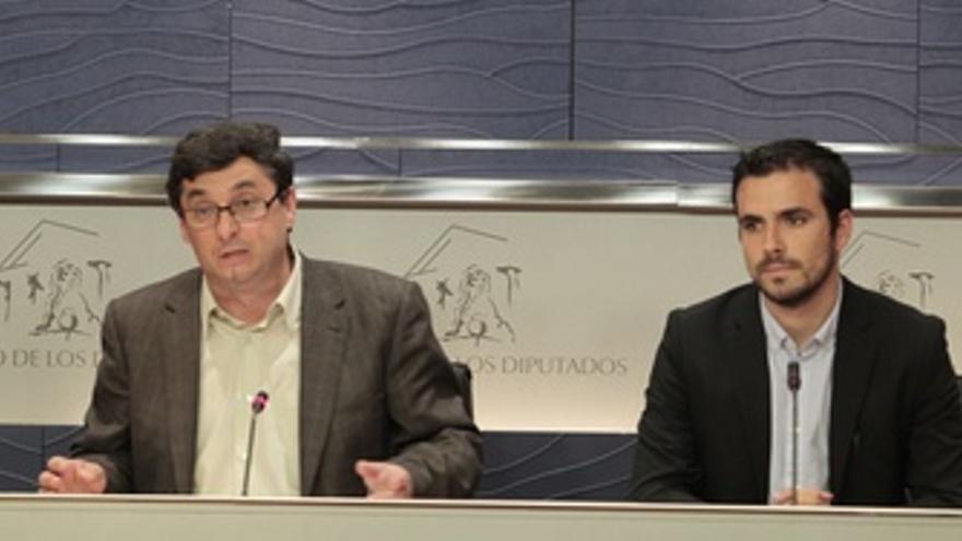 José Luis Centella Y Alberto Garzón