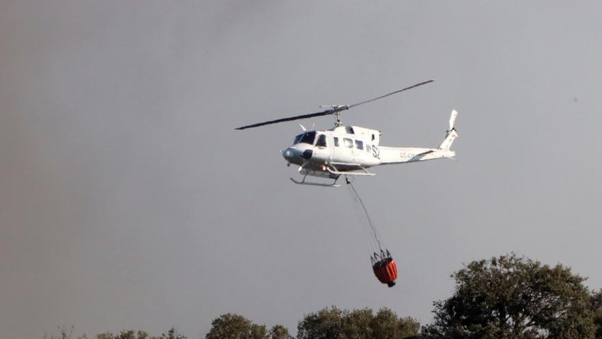 Controlan el fuego de Boca de Huérgano (León) y baja el nivel de peligrosidad