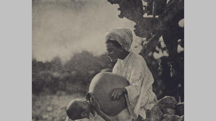 'Fuente mora', 1909, de Ortiz Echagüe / Museo Universidad de Navarra, Vegap.