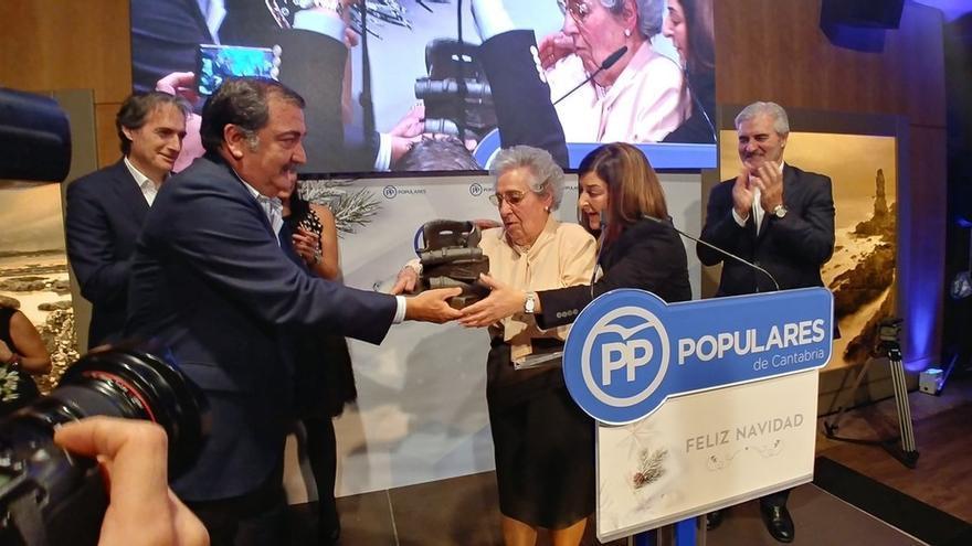 """Buruaga asegura que el PP va a """"ganar las elecciones"""" aunque otros """"siempre se den por ganadores"""""""