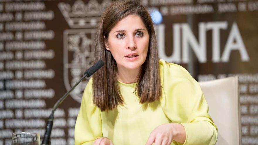 Isabel Gil Rosiña portavoz Junta Extremadura