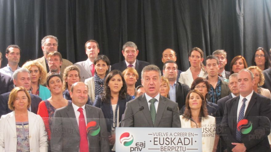 """Urkullu (PNV) cree que hay que conseguir """"un gran acuerdo"""" para """"hacer realidad"""" una nación vasca en Europa"""