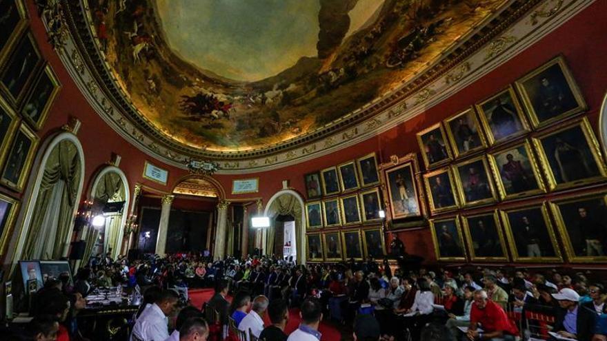 La Asamblea Constituyente venezolana suspende la sesión prevista para hoy
