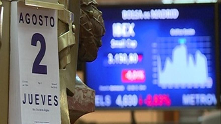 El Ibex 35 abre con caída del 0,19%