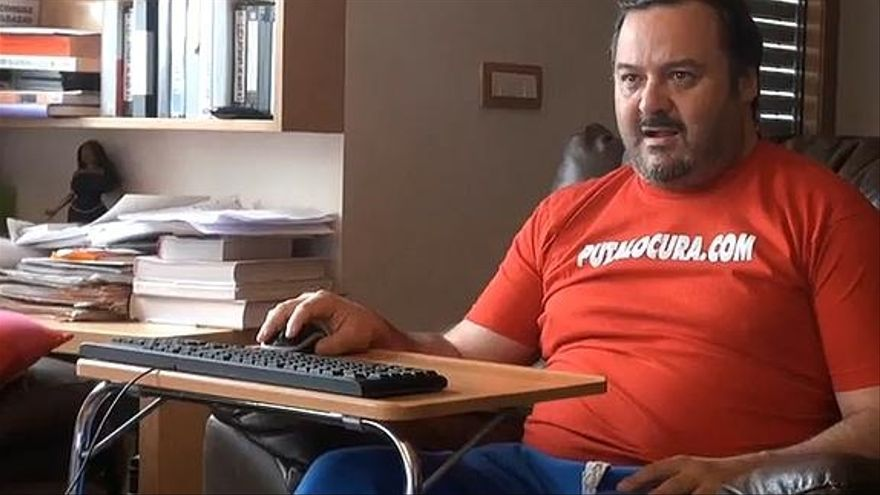 El empresario del porno Torbe en una imagen de la web torbe.es