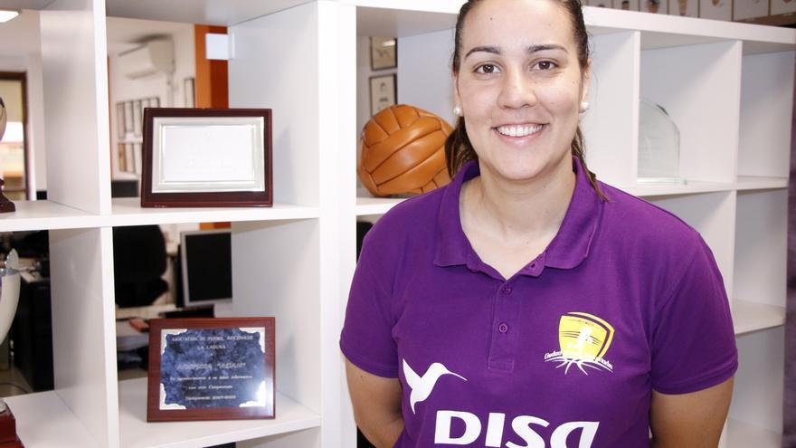 Eli Vivas, jugadora del Clarinos.