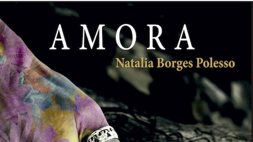 Portada Amora (Raspabook, 2019), escrito por Natalia Borges