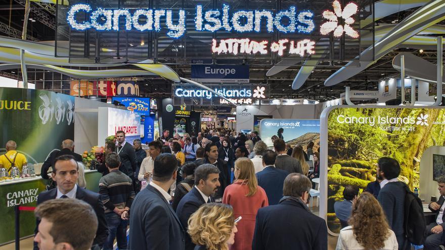 Canarias se promociona en la Feria Internacional de Turismo de Madrid, Fitur 2019.