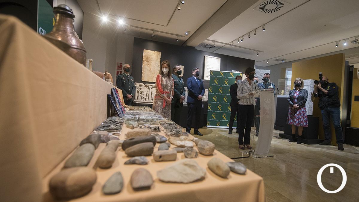 Recuperadas en Córdoba más de 2.000 piezas arqueológicas que se vendían en internet