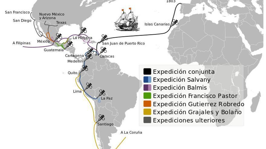 Real Expedición Filantrópica de la Vacuna | Wikipedia